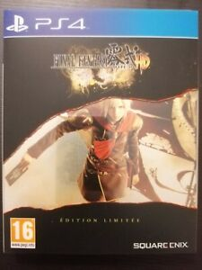 Final Fantasy Type-0 HD - PS4 - Édition Limitée [Steelbook] - FR - Comme neuf