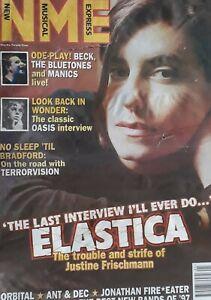 NME Music Magazine.4 January 1997.Elastica Cover.Oasis/Beck/Terrorvision/Orbital