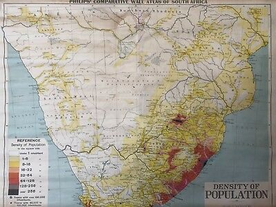 Vintage Pull Down Map CLOTH 1 Layer South Africa Vintage, Salvage,Antique.  | eBay