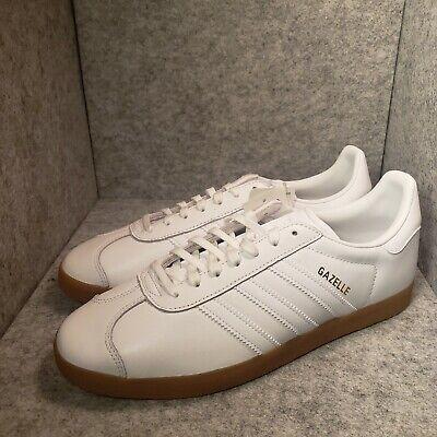 Men Adidas Gazelle BD7479 White Gum