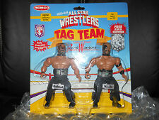 "REMCO/ljn AWA/wwf All Star Wrestling""ROAD WARRIORS""MOC figure""ULTRA/GEM AFA#1"