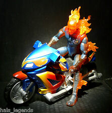 Marvel Legends HUMAN TORCH w/Motorcycle & Electronic Feature (Fantastic Four)