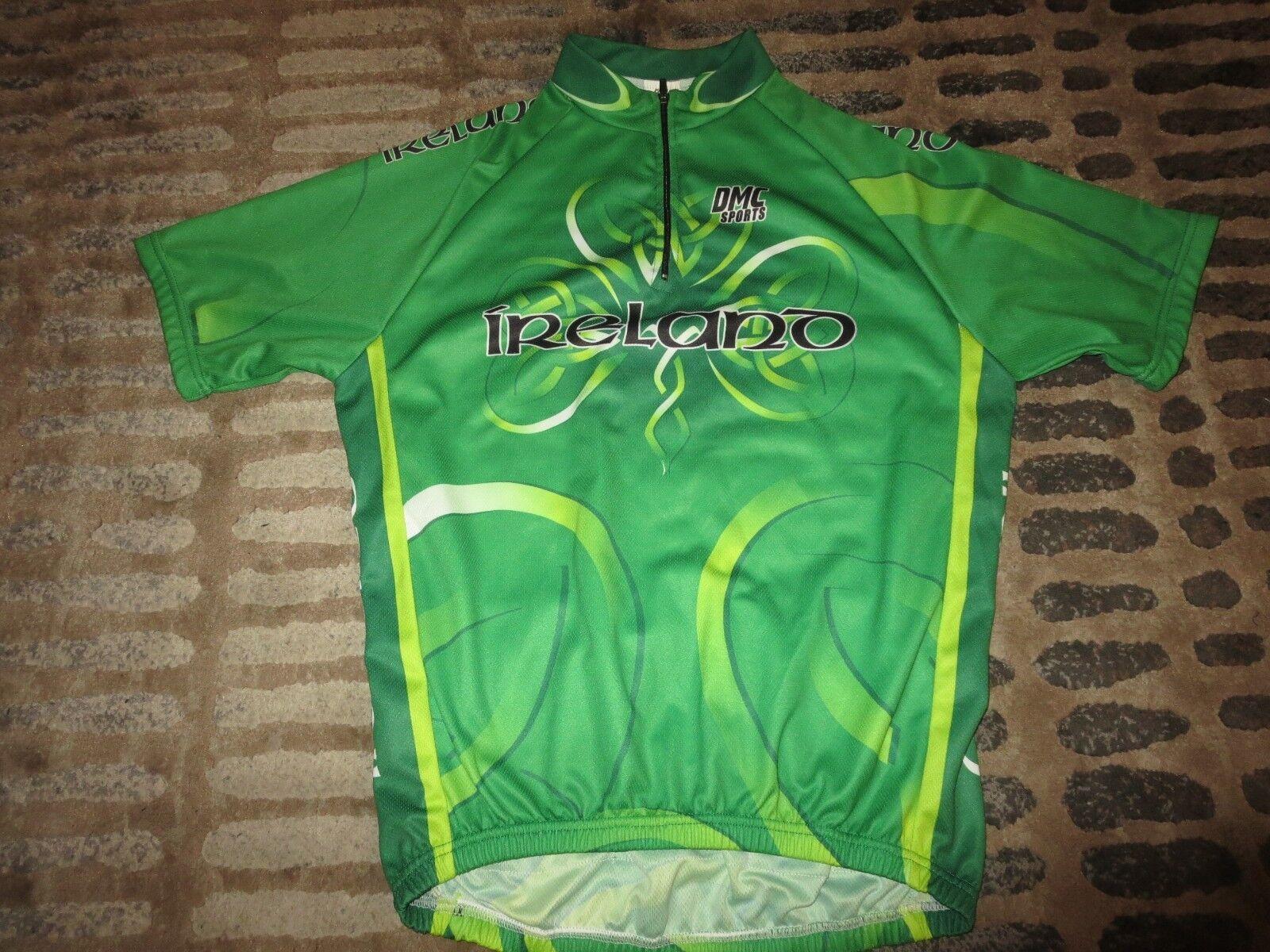 Irlanda Bicicleta Ciclismo DMC Sports Jersey XL Adulto