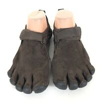 vibram fivefingers mens 38 LEATHER shoes M241 KSO Brown running minimalist
