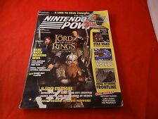 Nintendo Power Volume 164 Lord of the Rings Cover w/ Skies of Arcadia Poster