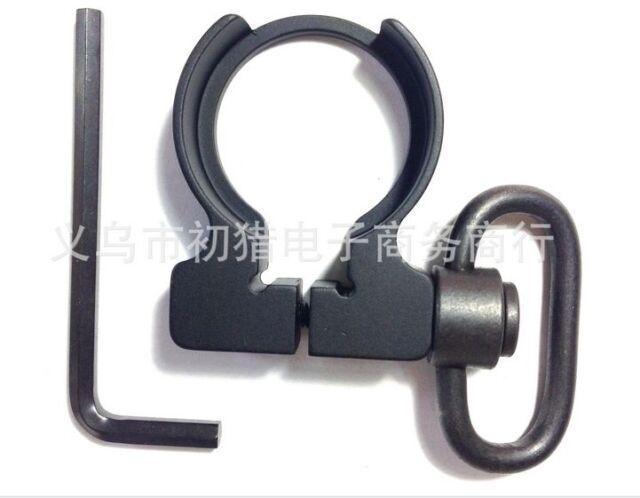 Detach Sling Tactical Quick Swivel Single Point Sling Buffer QD Adapter 1Pc