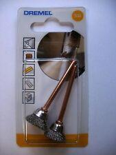 DREMEL STAINLESS STEEL BRUSH 531 PACK 2 CLEANING & POLISHING 13.0mm 26150531JA