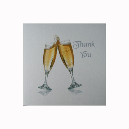 Thank you cards Multi buy discounts available pack of 6 cards /& envelopes