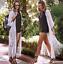 thumbnail 15 - Women Lace Crochet Long Cardigan Summer Beach Holiday Top Floral cardigan