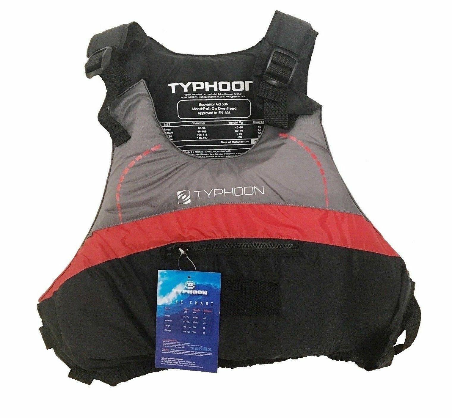 Typhoon Mekong Adjustable Bouyancy Aid, Dinghy Sailing,Windsurfing sup board ski