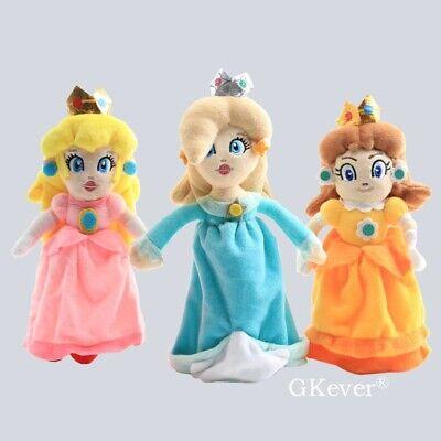 "2pcs Princess Peach Rosalina 8/"" #SM Plush Doll"