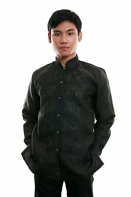 Jusi Short-Sleeve Barong Tagalog 001