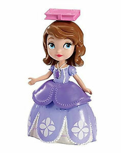 Disney-Sofia-the-First-Doll-and-Book-Ages-3-Mattel-New-Toy-Girls-Gift-Fun-Play