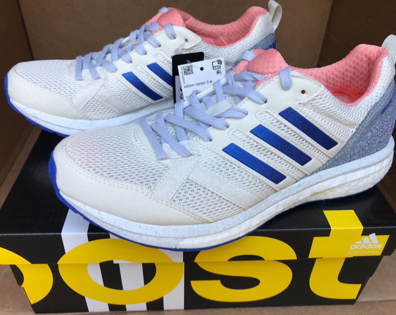 reputable site 3fd14 420b3 Adidas Adizero Tempo 9 W CP9498 CP9498 CP9498 Boost A Pied Marathon Running  Shoes Women s 6.5 995e43