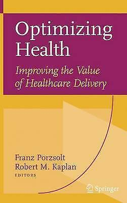 1 of 1 - Optimizing Health: Improving the Value of Healthcare Delivery-ExLibrary