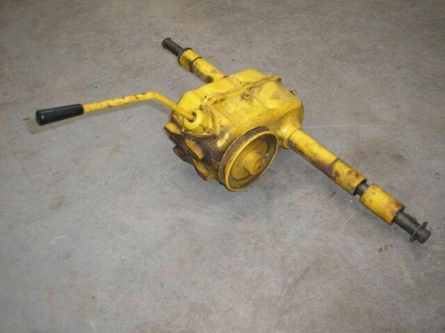Cub Cadet 76 Lawn Tractor Peerless 1214 3-Speed Transmission