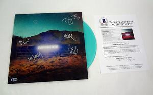 Arcade-Fire-Band-Signed-Autograph-Everything-Now-Vinyl-Record-Beckett-BAS-COA