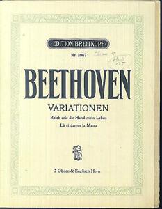 Beethoven-034-Variationen-Reich-mir-die-Hand-mein-Leben-034-2-Oboen-und-Horn