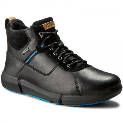 Clarks Men ** Tri Man Up Gtx **  Black Combi Lea ** Hiking Boot **  UK 9,10 G