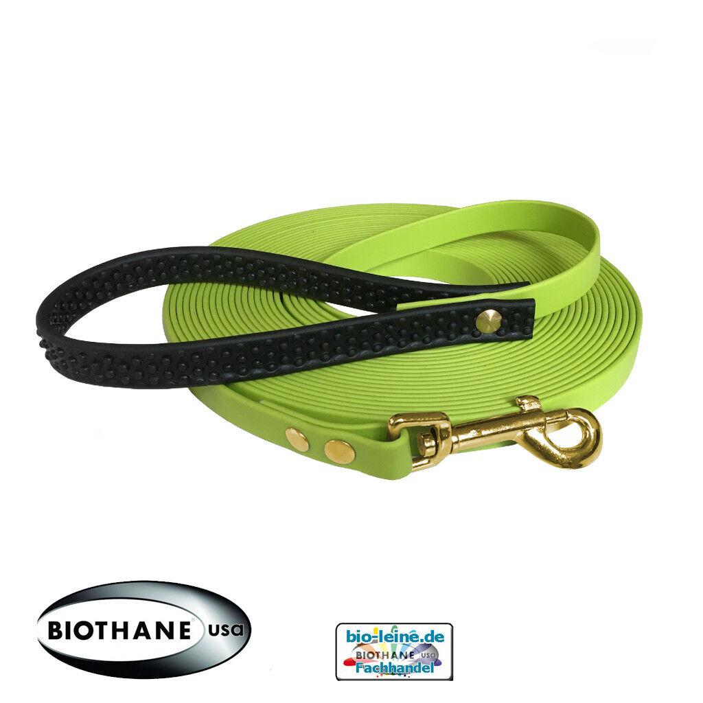 Schleppleine aus Biothane 10 m m m lang 19 mm breit  | Üppiges Design  9a3db5