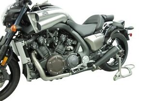 Details about Maxflow TwinStar 4-2 Slip-On Cat Eliminator Exhaust Yamaha  VMAX 1700 V-Max Vmax