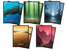 400 ULTRA PRO UNHINGED LANDS DECK PROTECTORS SLEEVES MTG [5-Packs 80ct Ea.]
