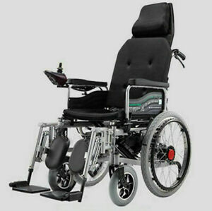 Portable-Folding-Power-Electric-Wheelchairs-Elderly-Disabled-Scooter-Dual-Motors