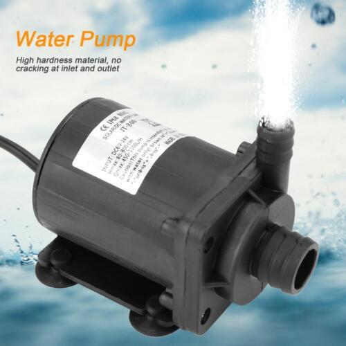 JT-800A-12 Detective Comics 24 V Mini Brushless Pompe à eau Boost pompe pour chauffe-eau solaire