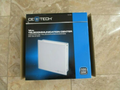 """Electronic Cable Box for Home or Office CeTech 14/"""" Telecommunication Center"""