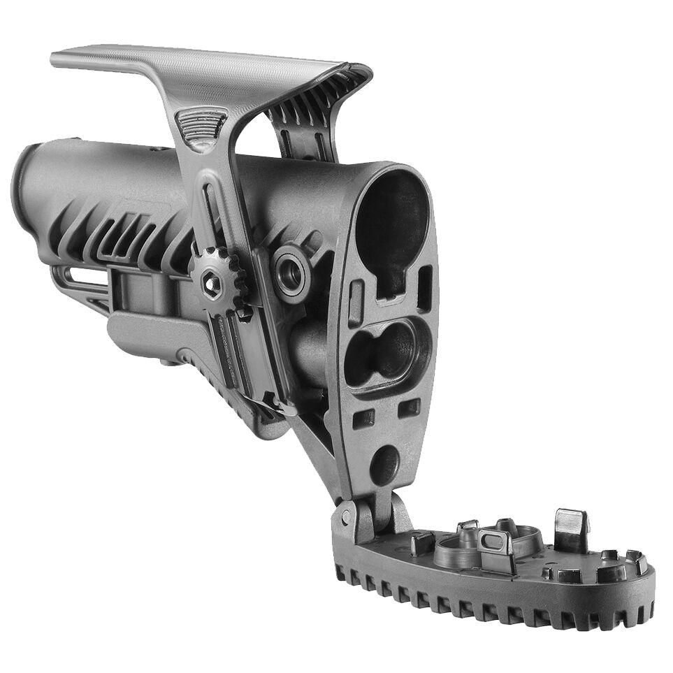 Stock de polímero FAB defensa plegable con diseño antideslizante Butt Pad-GLR-16 Cp