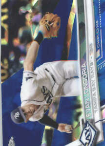 EVAN-LONGORIA-2017-TOPPS-CHROME-SAPPHIRE-EDITION-390-ONLY-250-MADE