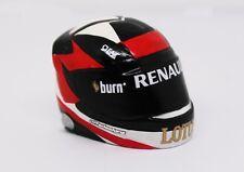 1/10 Prepainted F1 Driver  Helmet for RC Car F1 Lotus 2013 E21 Kimi Raikkonen