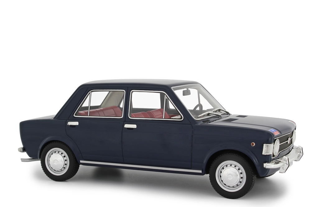 LAUDORACING-ModelllS FIAT 128 1° SERIE CARABINIERI 1969 1 18 RESIN Modelll LM112CC1