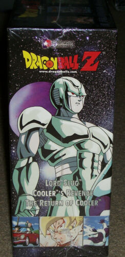 Dragon Ball Z Lord Slug / Cooler's Revenge / The Return of Cooler VHS BoxSet New
