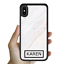 miniatura 7 - For iPhone 12 Pro Max 11 XS Case Marble IV Personalised Text Initial Custom Name