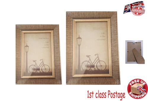 """Nouvelle Moderne en Bois Cadre Photo Affiche Cadre Cadre Photo 5x7/"""" 4x6/"""" Mur//Support"""