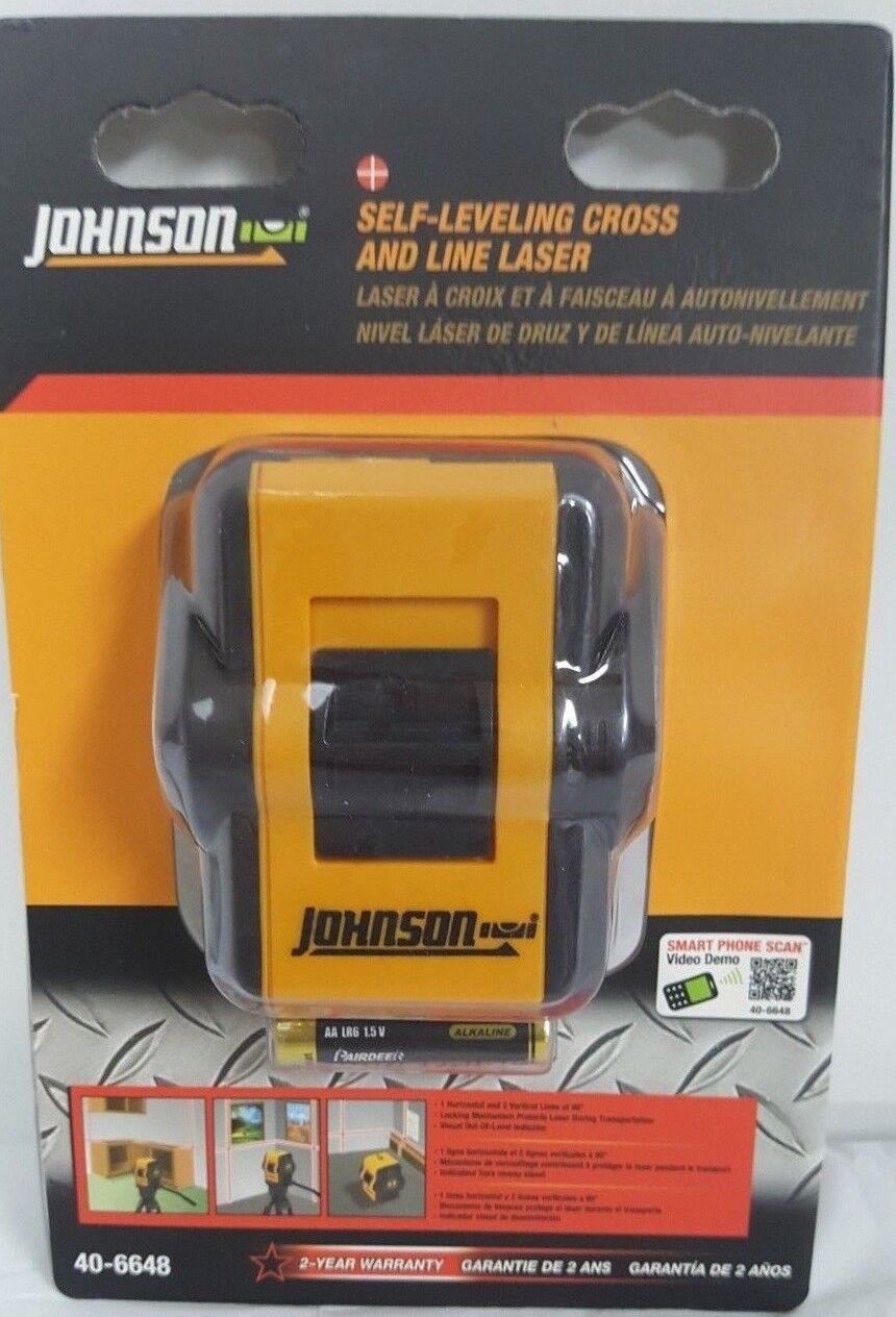 Johnson Self-Leveling Horizonatal & 2 greenical