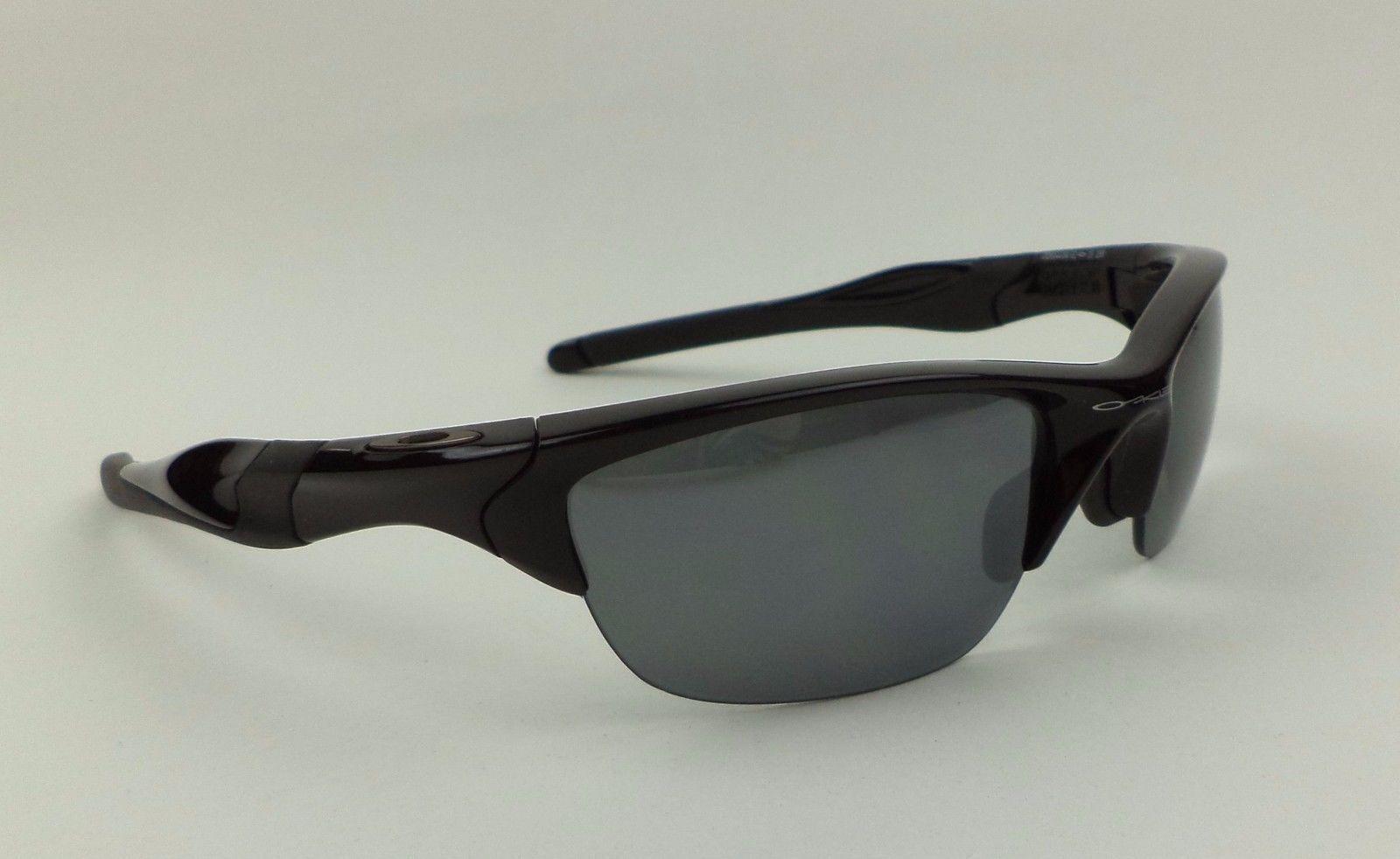 5378e51949c0 Oakley Half Jacket 2.0 Polarized Polished Black Iridium Sunglasses ...