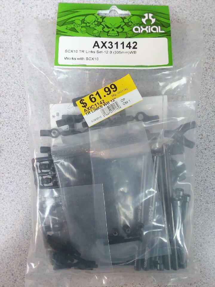 Axial AX31142 SCX10 TR enlaces Set 12.0  (305mm) WB funciona con SCX10 a estrenar