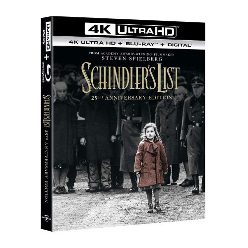 SCHINDLER'S LIST (4K UHD+Blu-ray)
