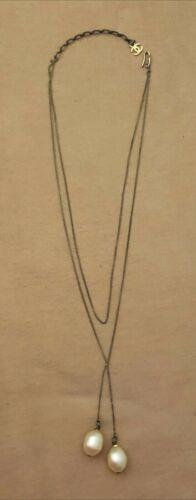 Authentic CHANEL Vintage Faux Pearl Necklace