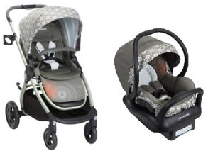 Image Is Loading Maxi Cosi Adorra Travel System Graphic Flower Stroller