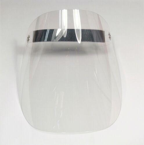 Gesichtsschutz-Schirm Schutzvisier mit festem Visier Klappvisier Augenschutz
