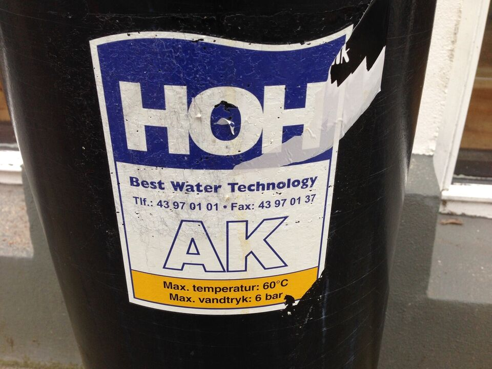 vand behandling afkalkning af saltning anlæg ,