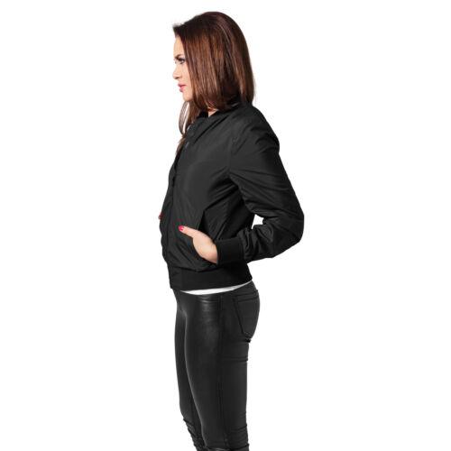 Urban Classics Femmes Bomber veste MATELASSE BIKER LÉGÈRE Bomber veste ma1 tb1217
