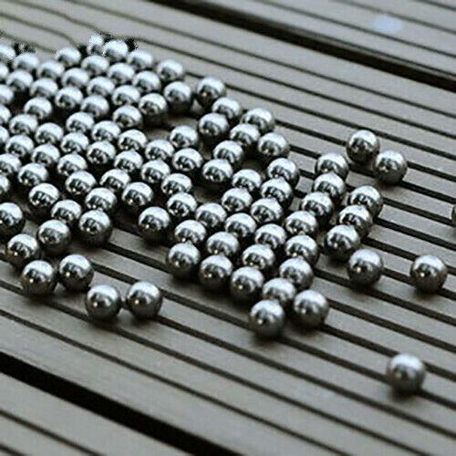 100mm Dia 8mm Stahlkugeljagd Katapult Schleuderjagd Lager Munitionskugeln Balls