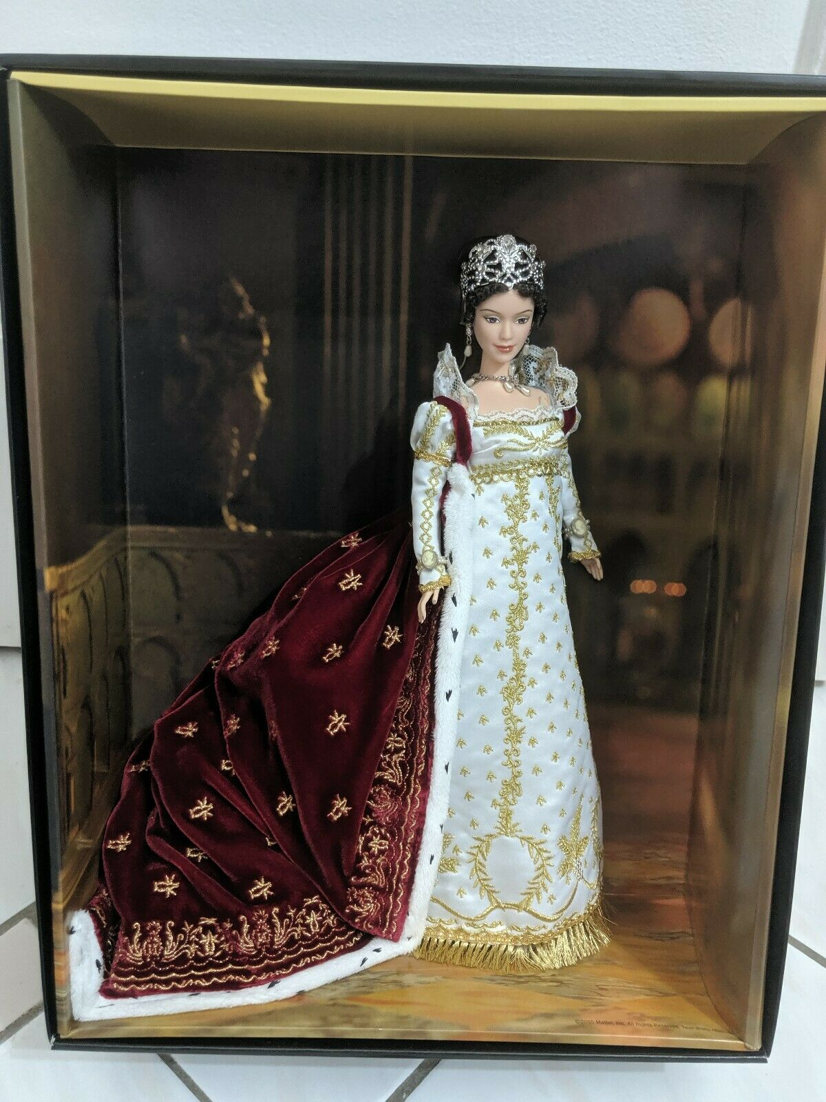 BARBIE Empress Josephine Doll  Label