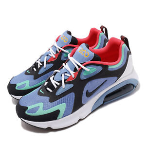 Nike-Air-Max-200-Royal-Pulse-Blue-Grey-Red-White-Men-Running-Shoes-AQ2568-401