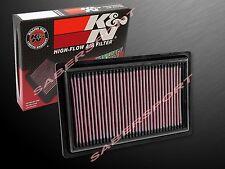 K&N 33-3034 Hi-Flow Air Intake Filter for 2015-2016 Mercedes C300 C250 C180
