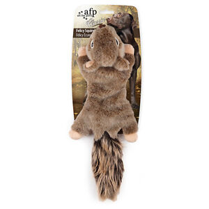 All-For-Paws-CLASSIC-FELICITY-SQUIRREL-No-StuffingDog-Toy-Realistic-Eco-Friendly